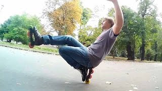 Corvo - видео обучение слаломнуму трюку (тое пистолет)