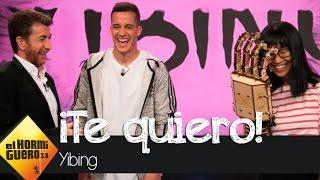 Yibing declara su amor a Lucas Vázquez - El Hormiguero 3.0