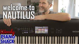 KORG NAUTILUS Overview & Demo