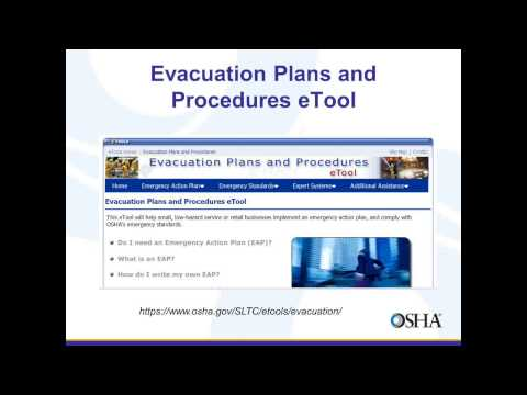 OSHA Standards for Emergency Action Planning and Response