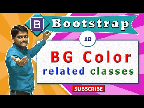 Bootstrap Tutorial 10 - Background Color Classes in Bootstrap thumbnail