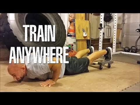 Train Anywhere With Anything (Wood Dolly Demo)