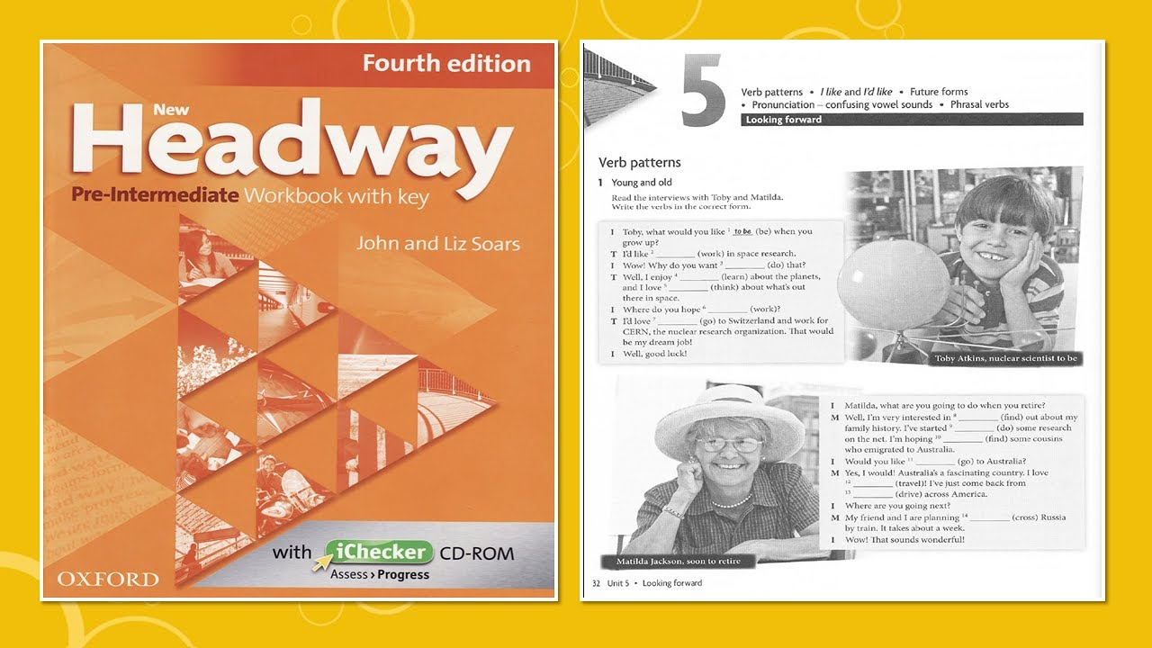 Workbooks speakout intermediate podcast worksheets : New Headway Pre-intermediate Exercise Book 4th -Unit :05 - YouTube