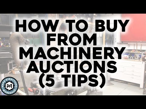 How To Buy From Machinery Auctions (5 Tips For Cheap Tools)