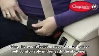 Clippasafe Адаптер ремня безопасности для беременных(Адаптер ремня безопасности предназначен для женщин на сроке от 2-х месяцев до окончания беременности. Защи..., 2015-01-15T14:01:51.000Z)