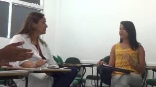 ENTREVISTA - INTERVENÇÕES EM PSICOLOGIA CLÍNICA HOSPITALAR - PSICÓLOGA MARCELA LOBÃO