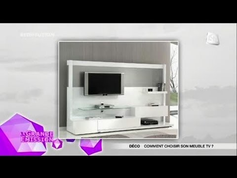 d co comment choisir son meuble tv youtube. Black Bedroom Furniture Sets. Home Design Ideas