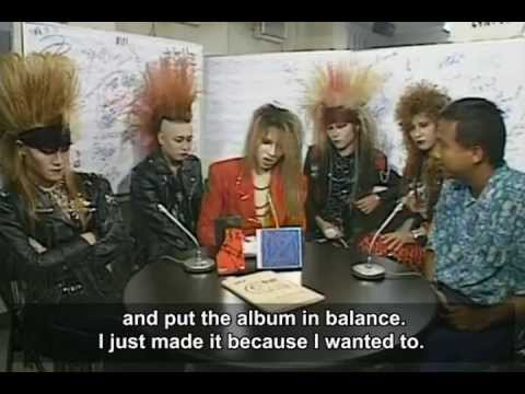 X-JAPAN interview (english subs)