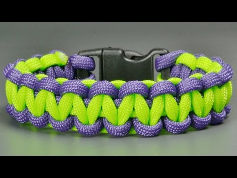 How To Make Basic Co Paracord Celet With Buckles