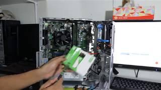 เปิดดูซิมีอะไร : เปิดดู Dell Optiplex 3060MT