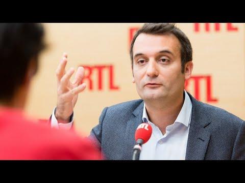 Florian Philippot était l'invité de RTL le 22 septembre 2017
