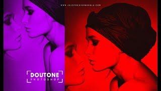 Doutone photo | Photoshop tutorial | by Ju Joy Design Bangla