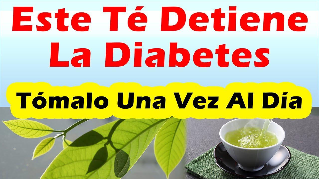 Este Té Detiene La Diabetes REMEDIOS CASEROS PARA BAJAR EL