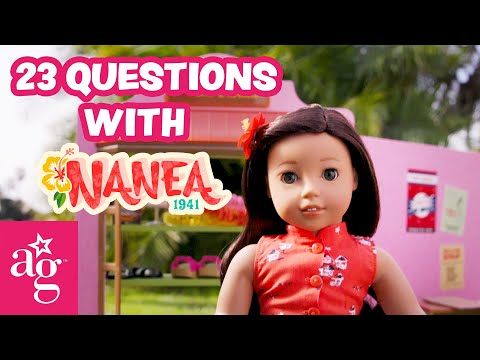 23 Questions With Nanea Mitchell | American Girl