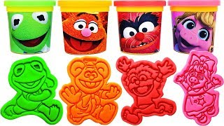 Gambar cover Play-Doh Muppet Babies Molds & Surprise Eggs, Learn Colors, Nursery rhymes