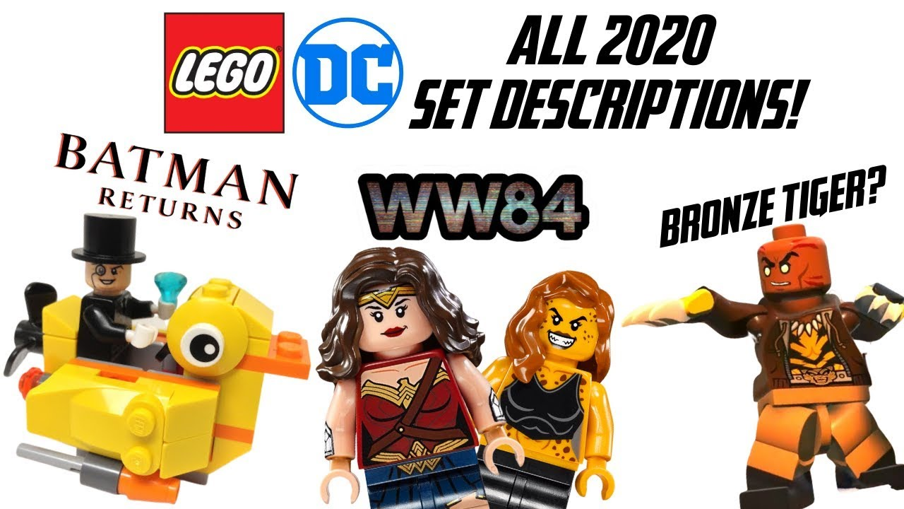 All Lego Dc Summer 2020 Set Descriptions Revealed Youtube