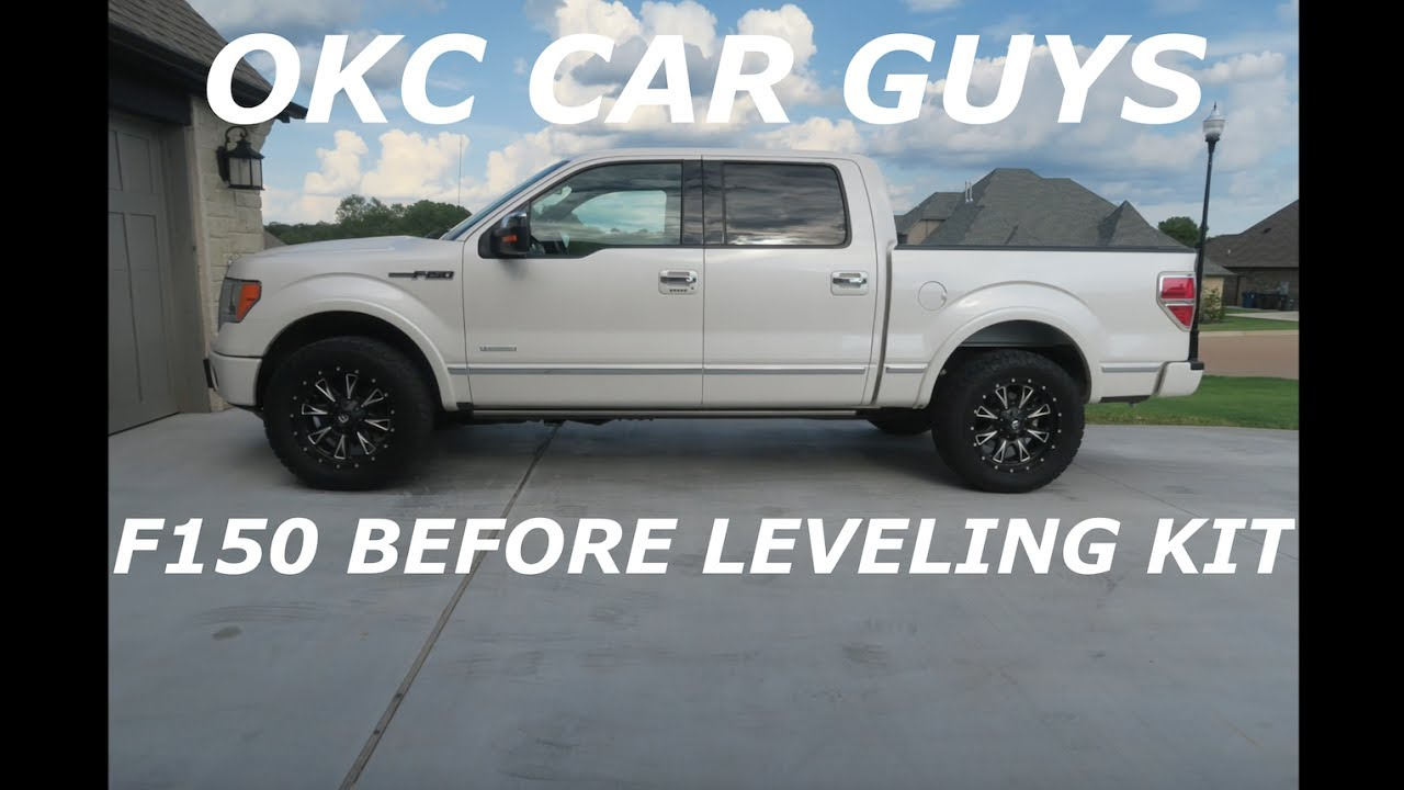 Platinum F150 4x4 Ecoboost Before Leveling Kit Youtube
