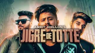 Jigre De Totte (Motion Poster) Amrit Dhillon ft. Raja Game Changerz | Releasing on 19th Feb