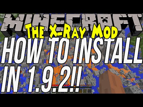 How To Download & Install The XRay Mod In Minecraft 1.9.2