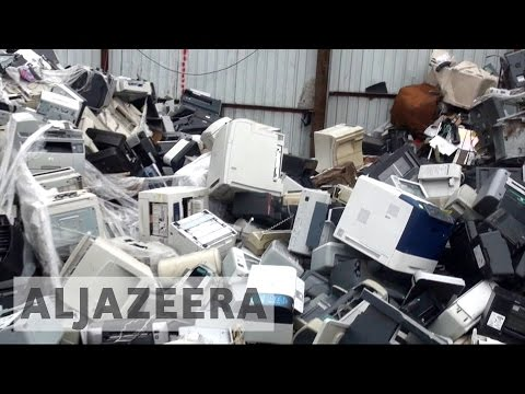 Canada Companies Blamed For Illegal 'e-waste' Exports