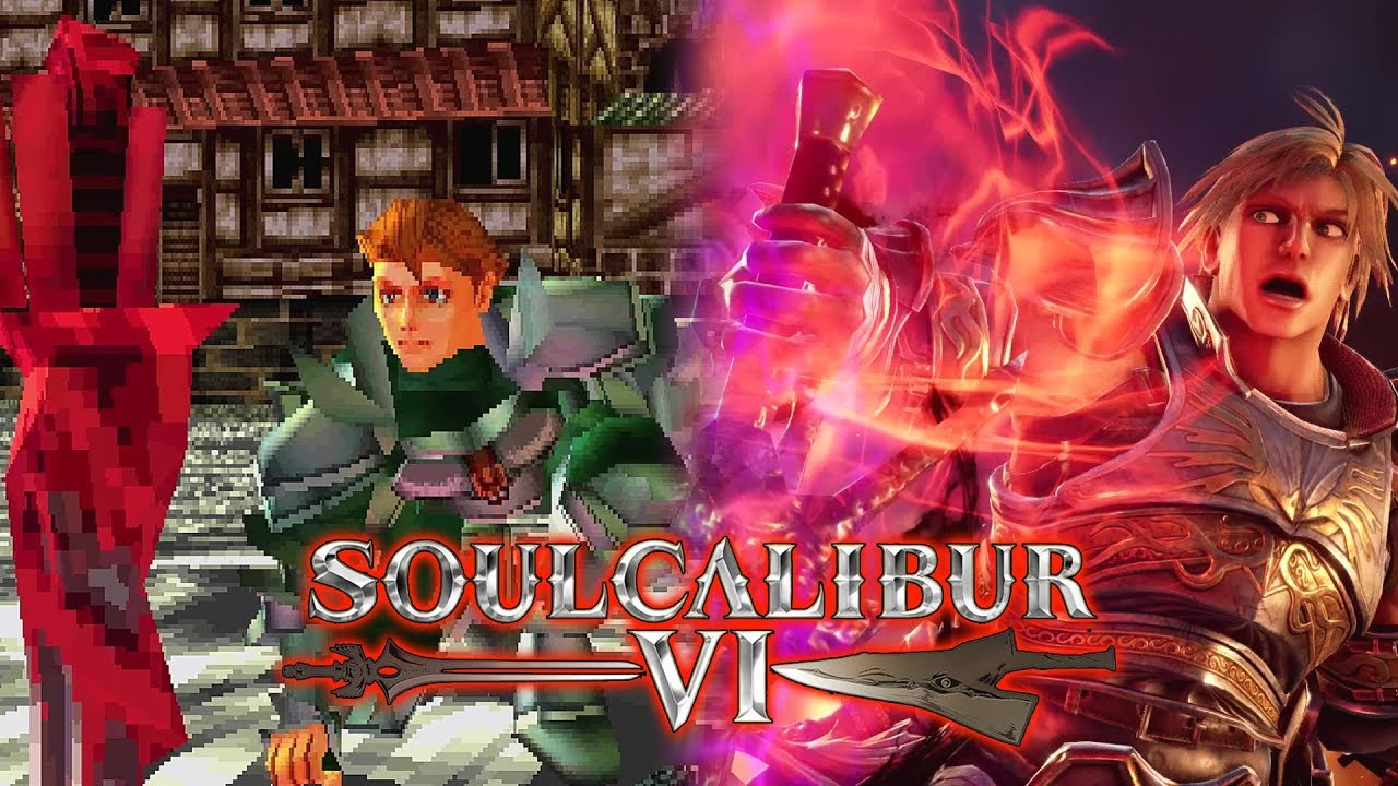 CHAOS PRODUCTIONS INC - Soul Calibur 6 - Siegfried Obtaining Soul Edge 1995 vs 2018 Comparison