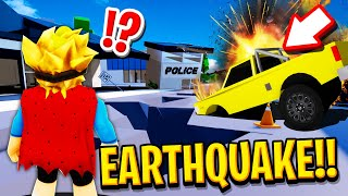 HUGE EARTHQUAKE in Roblox BROOKHAVEN RP.. (The End!?)