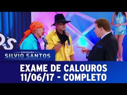 Exame de calouros | Programa Silvio Santos (11/06/17)
