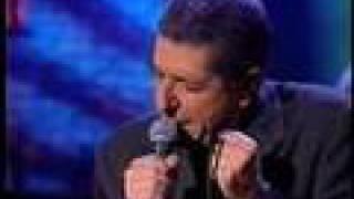 Leonard Cohen Feb. 1993 Live on Canadian TV: The Future