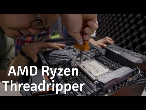 Threadripper unboxed and installed!