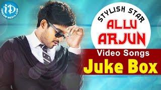 Allu Arjun All Time Hits - Jukebox || Telugu Songs || Melody Songs || 2016 Songs