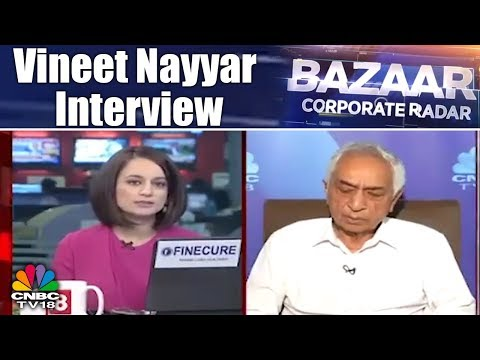 Vineet Nayyar Interview   Tech Mahindra: The Best Performing Stock   Bazaar Corporate Radar (Part 1)