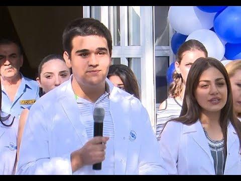 Էրեբունի պետական բժշկական քոլեջում երդվեցին լինել լավ բուժաշխատողներ