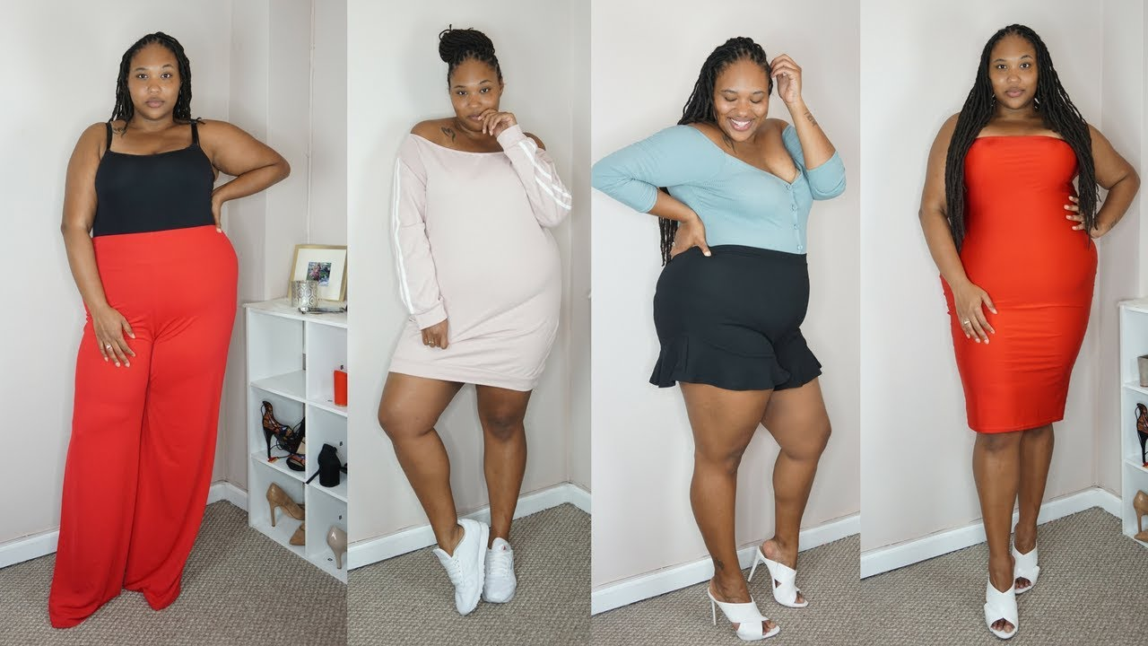 PRETTY LITTLE THING Plus Size Try on & Haul| Tall Girl Approved ...