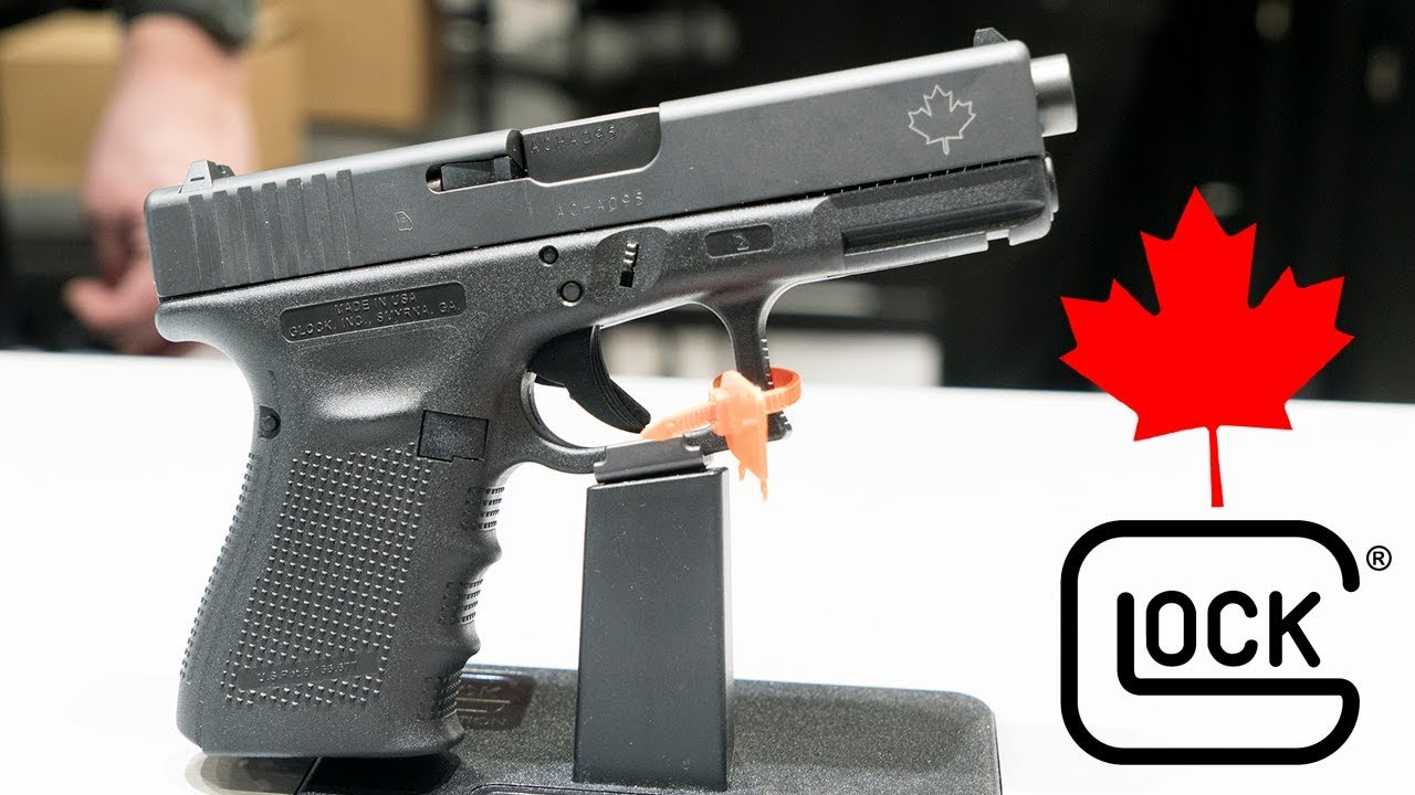 Canadians get their very own Glock G19 Gen 4 edition pistol