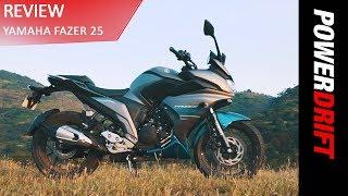 Yamaha Fazer 25 : The Good And The Bad : PowerDrift YouTube Videos