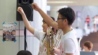 [吹奏楽団 晴吹] South Rampart Street Parade (晴吹 夏のバカ騒ぎ しろちかライブ2014 第2部)