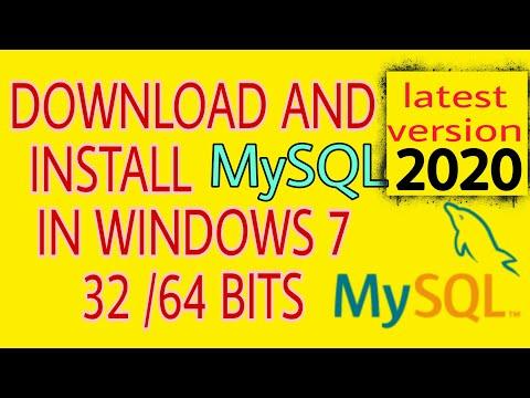 Download And Install MySQL  |  Latest Version 2020.