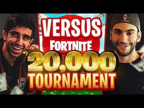 VIKKSTAR & TINNY vs AVXRY & NOAHJ456 in Fortnite $20,000 Tournament