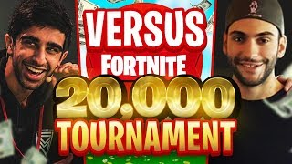 VIKKSTAR & TINNY vs AVXRY & NOAHJ456 in Fortnite $20,000 Tournament