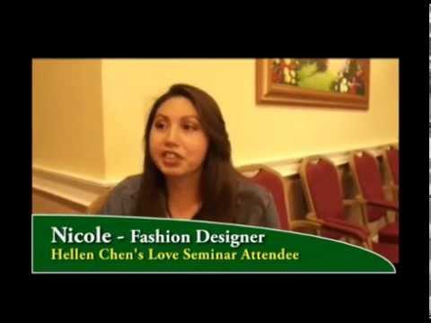 Hellen Chen's Love Seminar Testimonial - Nicole