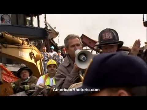 George W. Bush - 9/11 Bullhorn Speech