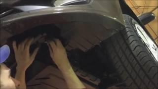 Установка защиты картера двигателя (Шериф) на Solaris