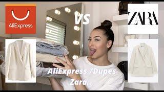 Haul AliExpress / Dupes Zara..