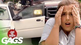 Truck Tears off Car Door