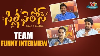 Allari Naresh and Sunil Funny Interview about Silly Fellows Movie | NTV Entertainment
