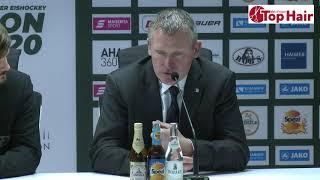 1878 TV | Pressekonferenz 10.01.2020 Augsburg - Schwenningen 3:1