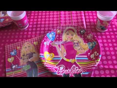 Barbie Birthday Party Ideas YouTube