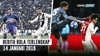 Janji Ronaldo Ke Bek Samdoria ⚽️ Thomas Muller Dihukum UEFA (Berita Bola Terlengkap)