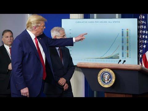 WATCH: President Trump and Coronavirus Task Force estimate 100,000-240,000 American deaths
