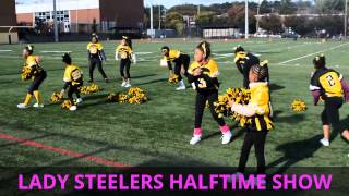2015 LAMOND RIGGS steelers tiny mites homecoming